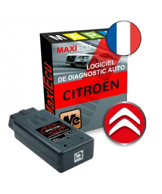 MaxiEcu 2 Citroën - Pack Logiciel + interface MPM-COM