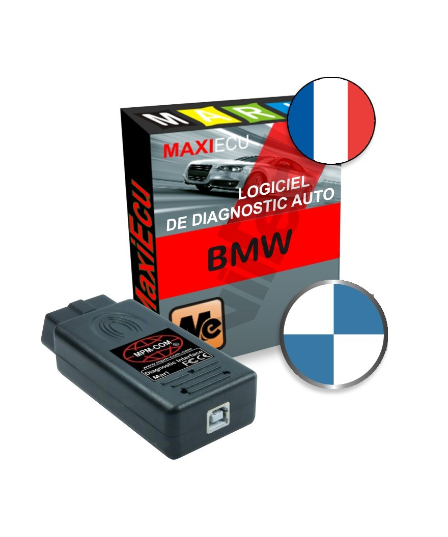 maxiecu 2 bmw pack logiciel de diagnostic interface mpm com. Black Bedroom Furniture Sets. Home Design Ideas