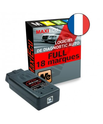 MaxiEcu 2 FULL 18 à 26 marques - Pack Logiciel + interface MPM-COM