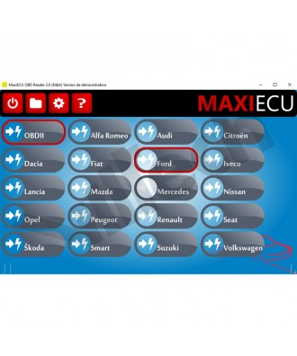 MaxiEcu 2 Chrysler - Pack Logiciel + interface MPM-COM