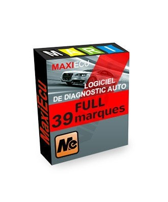 MaxiEcu 2 FULL 39 marques - Pack Logiciel + interface MPM-COM