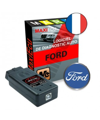 MaxiEcu 2 Ford - Pack Logiciel + interface MPM-COM