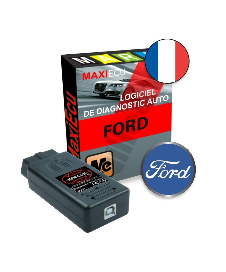 maxiecu 2 ford pack logiciel de diagnostic interface mpm com. Black Bedroom Furniture Sets. Home Design Ideas