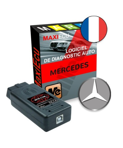 maxiecu 2 mercedes pack logiciel de diagnostic. Black Bedroom Furniture Sets. Home Design Ideas
