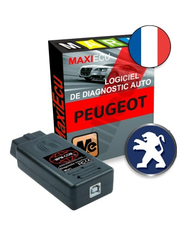 maxiecu 2 peugeot pack logiciel de diagnostic. Black Bedroom Furniture Sets. Home Design Ideas