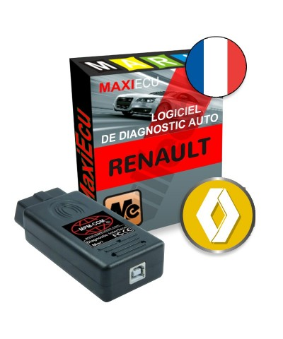maxiecu 2 renault pack logiciel de diagnostic interface mpm com. Black Bedroom Furniture Sets. Home Design Ideas