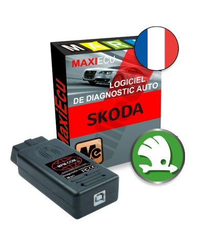 maxiecu 2 skoda pack logiciel de diagnostic interface mpm com. Black Bedroom Furniture Sets. Home Design Ideas